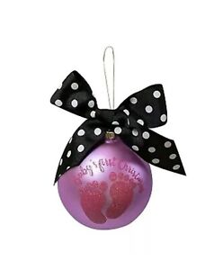 Simply Southern Baby Girl Christmas Ornament