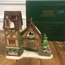 New listing Dept 56 Dickens Village Postern 10th Anniversary Holiday Gateway Archway
