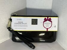 *NEW Liz Claiborne Phone Charging Wrist Wallet for iPhone & Android Micro-USB
