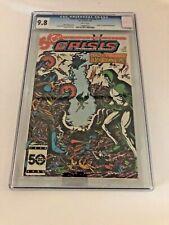Crisis on Infinite Earths #10 CGC 9.8 1986