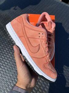 Nike SB Dunk Low Pro Pink Pig Men's Size 9 CV1655-600 SAMPLE