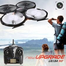 UDI 818A HD RC Quadcopter Drone with HD Camera Headless Mode - 2.4GHz 4CH 6 AXIS