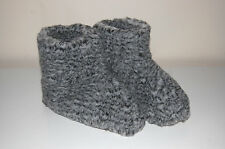 Ladie's Men's Very Warm Fleece Sheep Wool Boots Slippers All Sizes & Models