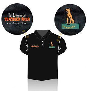 The Dog on the Tuckerbox Polo Shirt - size 2XL