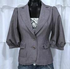 XS - BCBGMAXAZRIA Elbow Puff Sleeve Blazer Jacket