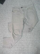 DIOR 100% cotton grey button-fly relaxed jeans sz 36