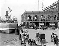 Photograph of Detroit Belle Isle Steamship Garland Year 1906c  8x10