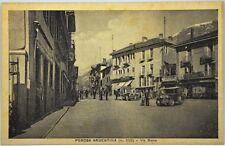 Cartolina Formato Piccolo - Perosa Argentina m. 620 Via Roma Non Viaggiata