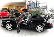 *TOPP GLANZSTÜCK* Porsche 911 C4 Cabriolet 964 Turbo Sitze im Oldtimer Museum