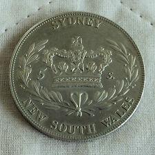 Australia Sydney NSW 1840 Níquel Plata Prueba Patrón Corona-acuñación 18