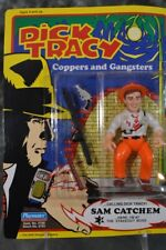 1990 Playmates Dick Tracy Coppers and Gangsters Sam Catchem Figure Unpunched