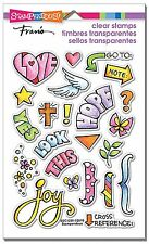 Bible Journaling, Clear Unmounted Rubber Stamp Set STAMPENDOUS - NEW, SSC1250