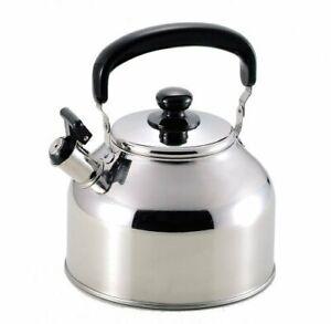 Stainless Steel Water Tea Kettle IH Induction Heat Stove 3.7 Liter / 5.0 Liter