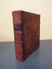 Scarce 1810 Folio German Bible - Printed in Philadelphia