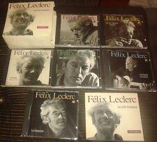 ULTRA RARE FELIX LECLERC COFFRET INTEGRALE 6 CD + LIVRET  LE P'TIT BONHEUR