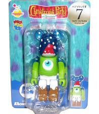 Disney Pixar Christmas Party 2013 Bearbrick Be@rbrick 100% no.7 Mike X'mas Ver.
