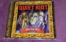 QUIET RIOT cd ALIVE AND WELL kevin dubrow  free US shipping