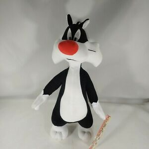 """Looney Tunes Sylvester Cat Plush 13"""" Toy Factory Stuffed Animal"""