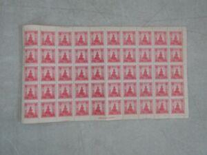 Nystamps Korea mint revenue stamp sheet Rare !
