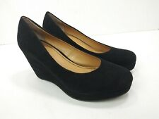 A New Approach a.n.a. Womens Black Classic Pump Wedges Size 9