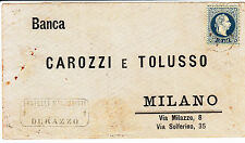 AUSTRIA-LEVANTE-10 soldi(4)- busta da Durazzo a Milano 30.12.1882