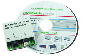 Uhlenbrock 63130 USB-LocoNet-Interface #NEU in OVP#
