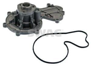 SWAG Water Pump 30 94 4195 fits Audi A6 2.4 (C6) 130kw, 2.4 Quattro (C6) 130k...