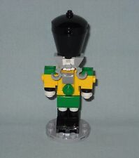 "NEW LEGO CHRISTMAS 3 3/8"" TALL NUTCRACKER, TOY SOLDIER FIGURE, ALL NEW PIECES!"