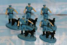 MICRO MACHINES PEOPLE ​LOT OF 5 POLICE OFFICER FIGURES NICE