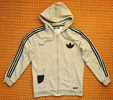 Adidas Originals, Mens Gray Hoodie sweatshirt, Mens Medium