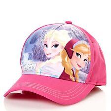 Disney Frozen Baseball Cap Pink Hat Elsa & Anna New