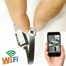 Super Smallest WIFI wireless IP spy DIY internet hidden pinhole camera micro dvr