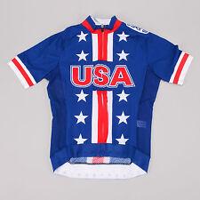 Skins Team USA 2012 Olympic Aero Race SS Jersey SMALL America Cycling Bike