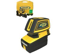 Spectra Precision Lt52G 5-Point and 2-Cross Green Beam Line Laser Level New
