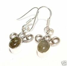 Pure Sterling Silver Labradorite Earrings      # LABE31