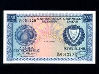 Cyprus:P-41c,250 Mils,1976 * UNC *