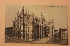 Carte postale ancienne MILANO (MILAN)  - Il Duomo