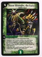 Duel Masters 2006 TCG DM 09 Storm Wrangler the Furious Rare 51/55 English OOP