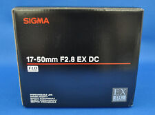 Sigma 17-50mm F2.8 EX DC HSM Zoom Lens For Sony Japan model New