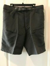 The North Face Men's Paramount Trail Shorts Asphalt Grey Nylon Belted XL