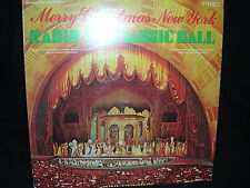 Merry Christmas New York From The Radio City Music Hall NM/VG Free Shipping