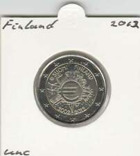 Finland 2 euro 2012 UNC : 10 Jaar Euro munt