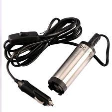 12V DC 38mm Mini Electric Oil Diesel Fuel Water Pump Cigarette lighter plug TE