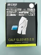CEP Mens Running Calf Sleeve Pro 2.0 Colour Blue/Green Size V New