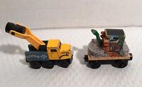 Thomas Friends Wooden Railway Train Lot Sodor Recovery Unit Butch, Scrap Monster