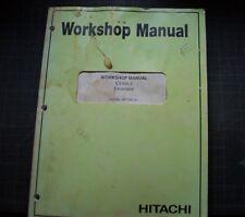 HITACHI EX300-2 Excavator Trackhoe crawler WORKSHOP Service Manual repair BOOK