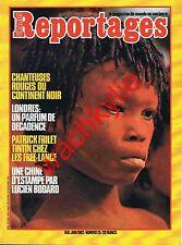 Grands reportages n°25 - 05/1982 Bali Orenoque Londres Frilet Zaïre Chine