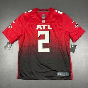 100% Authentic Atlanta Falcons Matt Ryan Nike Red 2nd Alternate Game Jersey XL