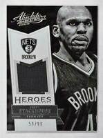 2015-16 Absolute Memorabilia Heroes Materials #24 Jerry Stackhouse Jersey /99