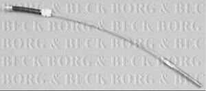 BORG & BECK HANDBRAKE CABLE FOR AN OPEL CORSA BOX 1.2 55KW